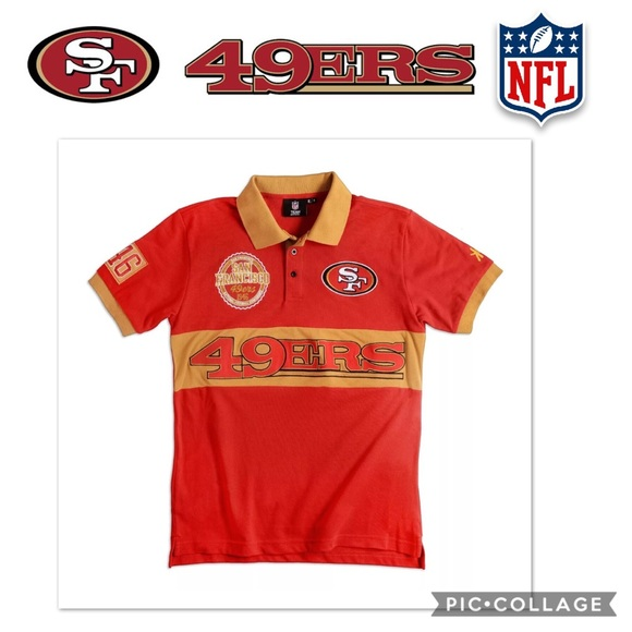 16fc7831206 NFL Shirts | Team Apparel Sf 49ers Collectible Rugby Shirt | Poshmark